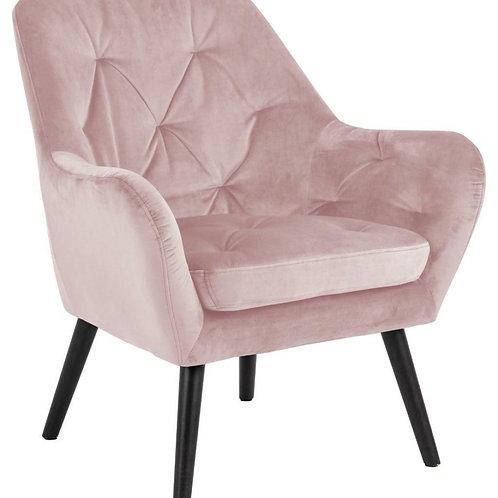 Fotel różowy  Pink Lady