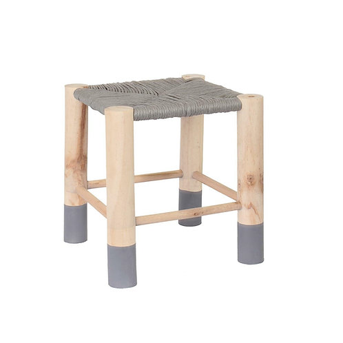 Drewniany stołek Maroko 33