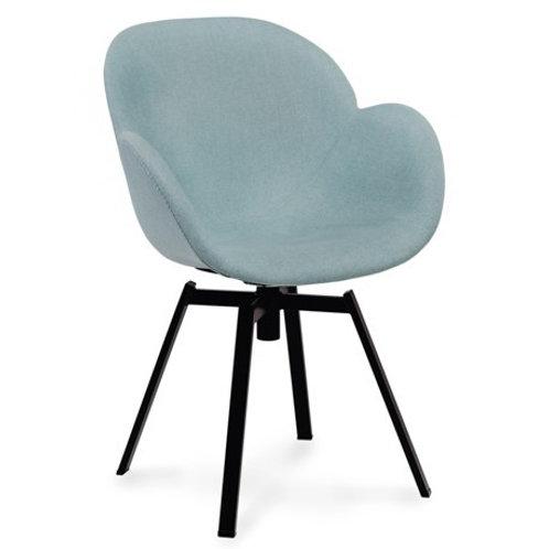 Krzesło obrotowe miętowe 33