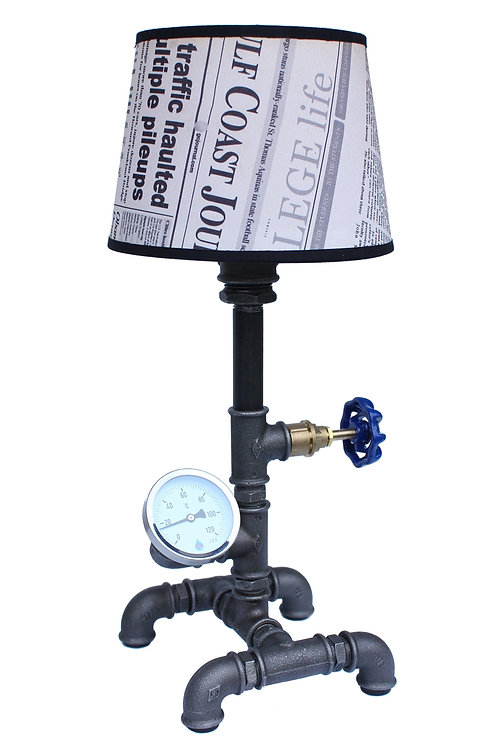 Hand made - Lampka biurkowa - Loft Plumber&Watchmaker II