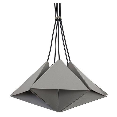 Metalowa lampa wisząca - 5 Triangles
