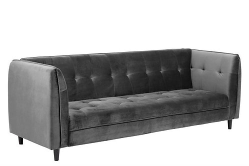 Sofa Amelia  rozkladana szara  235 cm