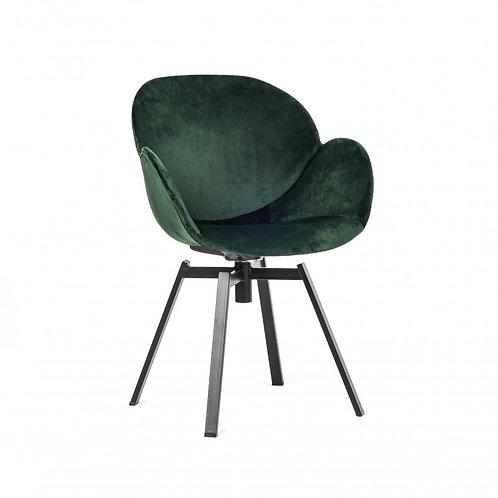 Krzesło tapicerowane welurowe - różne kolory