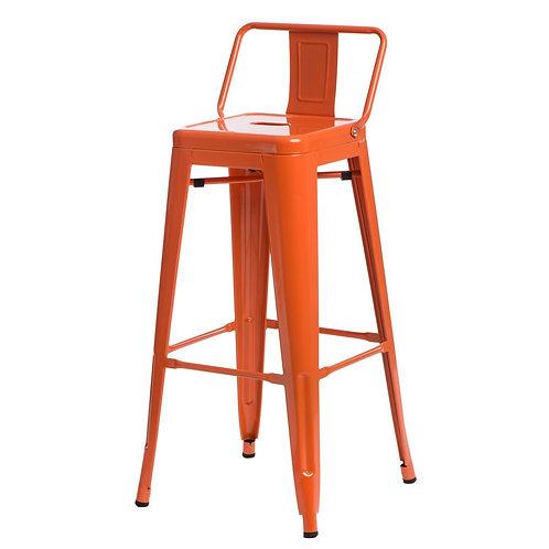Designerski  pomarańczowy  Hoker Tina 22