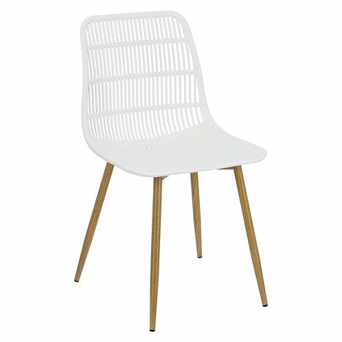 Krzesło białe ażurowe Azalia 33