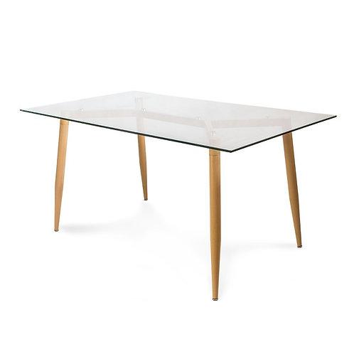 Stół szklany 150x90 - Toothpick