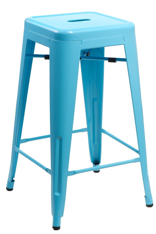 Designerski niebieski  Hoker Andre