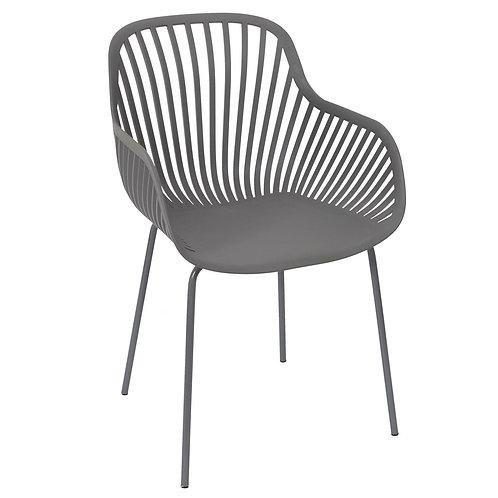 Krzesło szare  Armanda 2