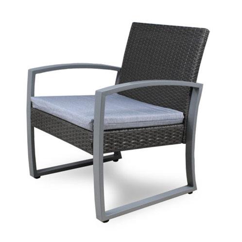 Fotel ogrodowy z poduszką
