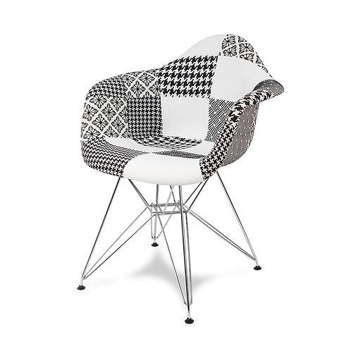 Krzesło Patchwork Charles BW  22