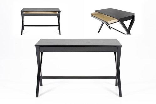 Designerskie biurko - białe i czarne