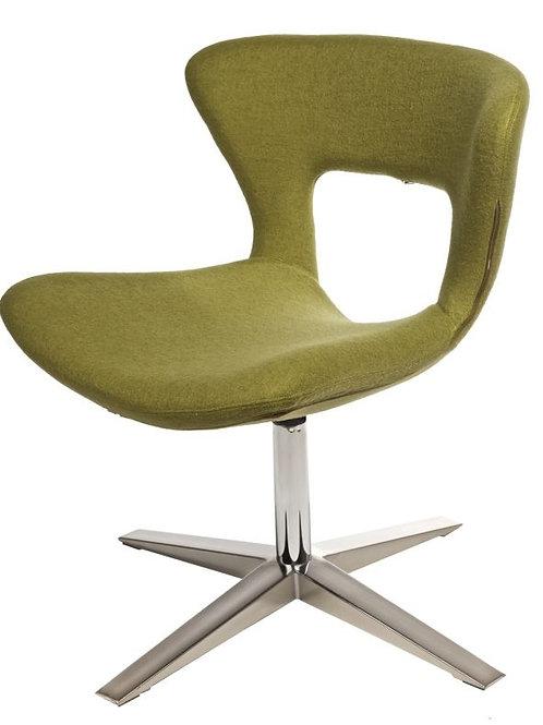 Krzesło zielone  designerskie  Kosmo 11