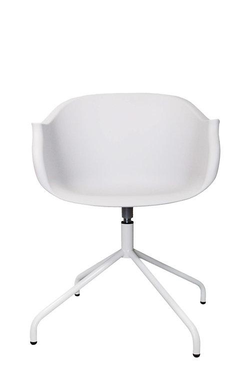 Krzesło obrotowe Berti - białe
