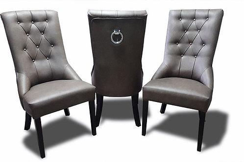 Krzesło tapicerowane Luxury  eko - skóra