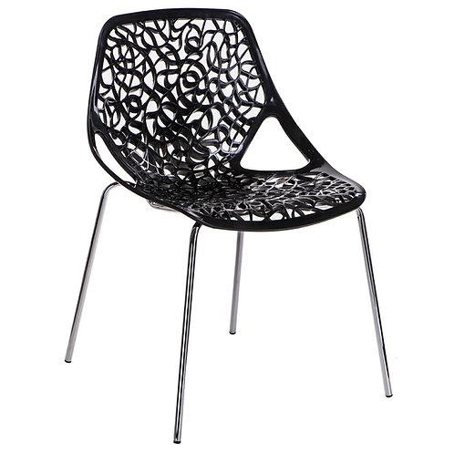 Krzesło czarne  Manuela 33