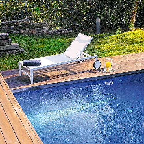 Designerski leżak Santorini