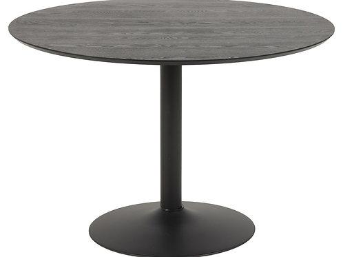 Czarny stół Ares 110 cm