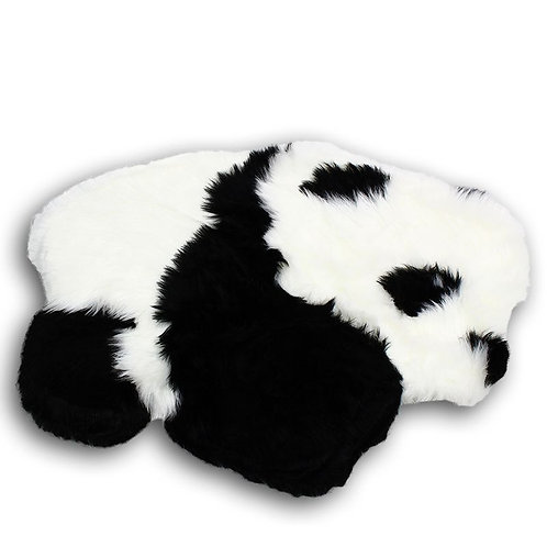 Futrzany dywanik do pokoju dziecięcego Panda