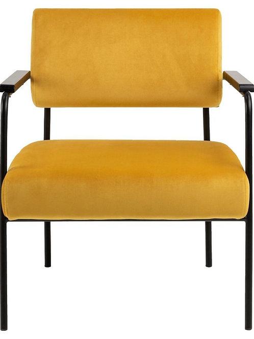 Fotel Klasyk żółty
