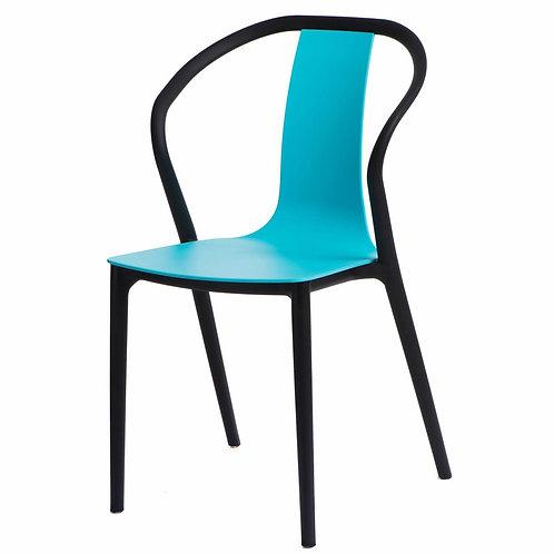 Krzesło  Baleria   czarne/niebieskie