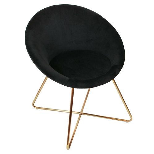 Fotel Coco  Velvet czarny