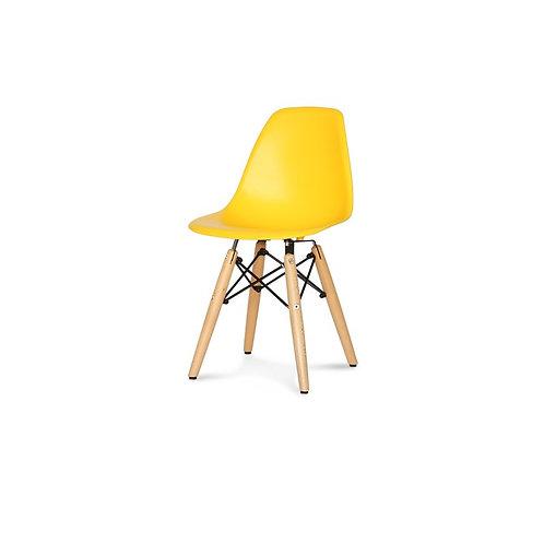Krzesło dziecięce  żółte   - Charles