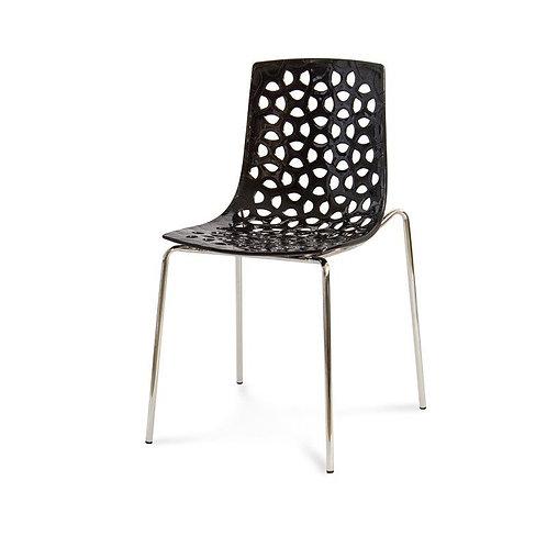 Krzesło ażurowe  Black  Dots