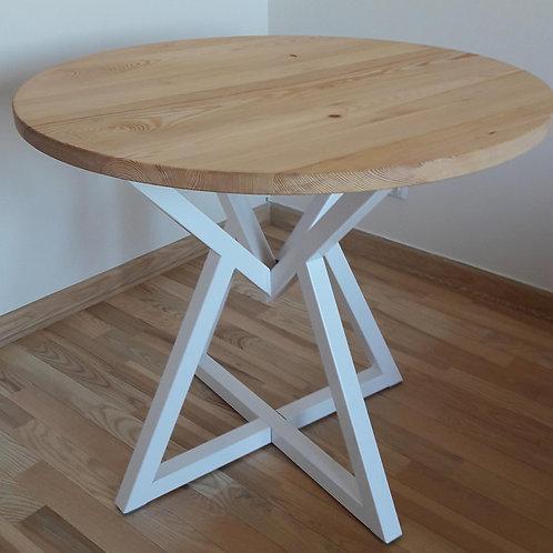 Stół dębowy Artist 100 cm
