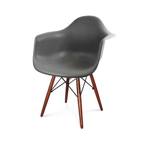 Krzeslo szare Big Charles wenge  2