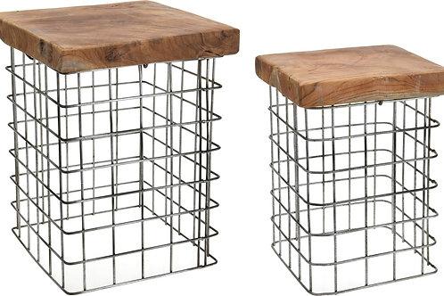 Designerskie drewniane  stoliki  -  Ażurki 22