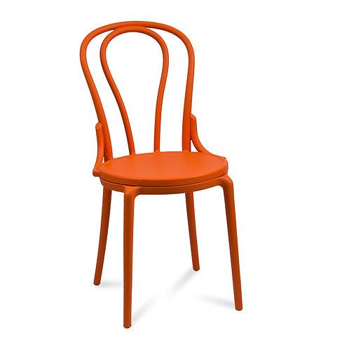 Krzesło  pomarańczowe  Klasyk 8