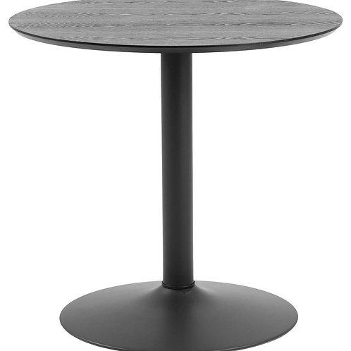 Czarny stół Ares 80 cm