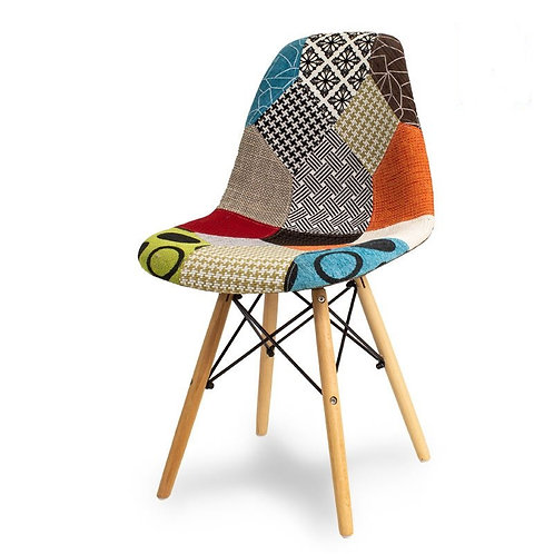 Krzesło Patchwork Charles kolor