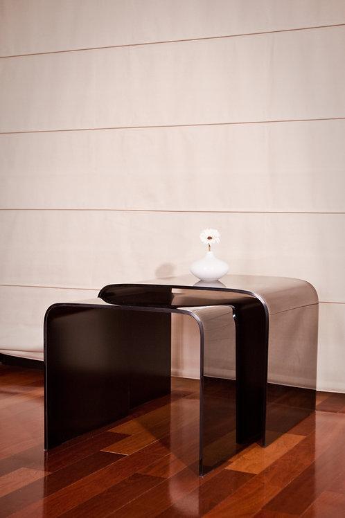 Stolik Glass Italiano VIII Black