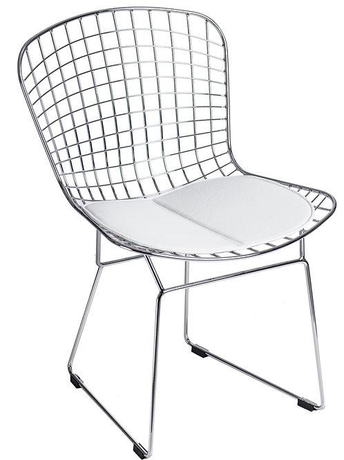 Krzesło ażurowe - stal