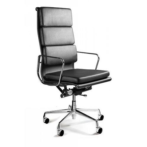 Fotel biurowy ze skóry naturalnej - Director