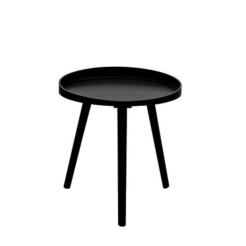 Stolik okrągły Rafael czarny 40 cm