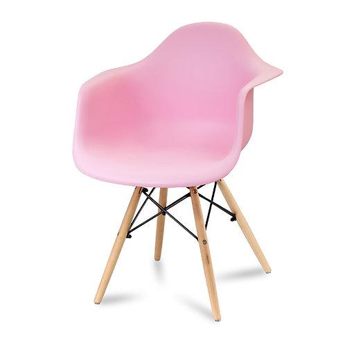 Krzesło Big Charles - różowe