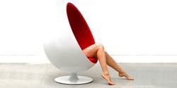 Fotel Oval Egg