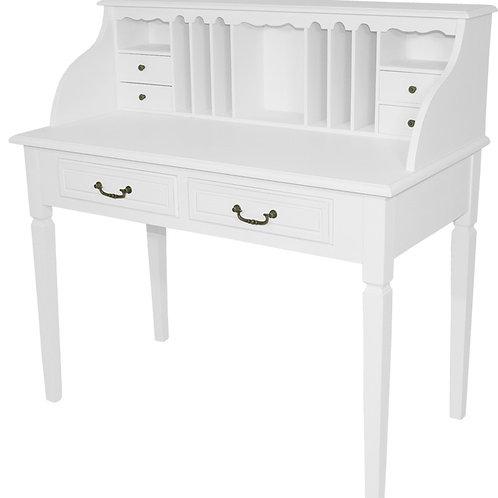 Białe biurko Prowansalskie - Carolin