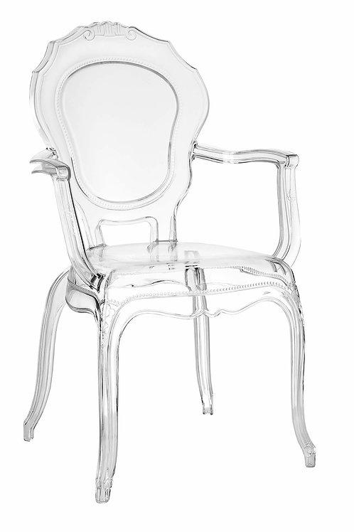 Krzesło transparentne Antonina
