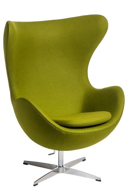 Fotel Arne Egg  Kaszmir zielony -  Premium