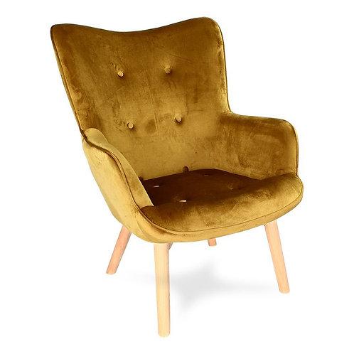 Fotel złoty Tedi 44