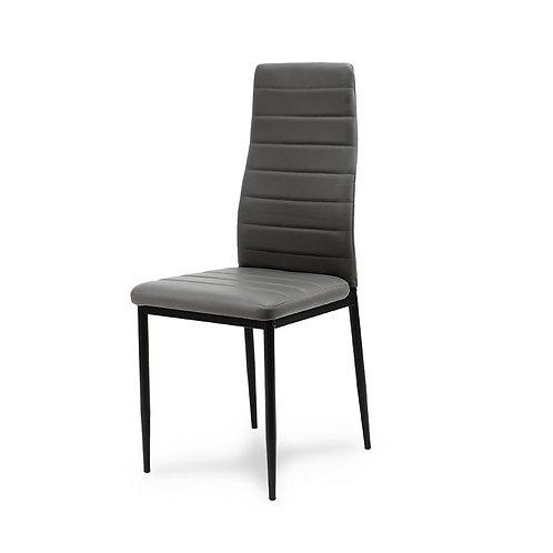 Krzesło nowoczesne szare 44