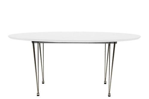 Stół white chrom