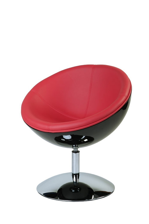 Designerski fotel Red