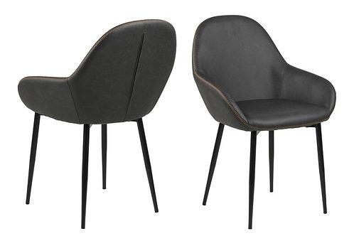 Krzesło tapicerowane -  Eko skóra