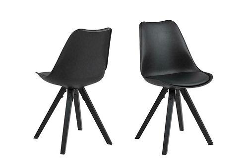 Krzesło czarne Fabian 28