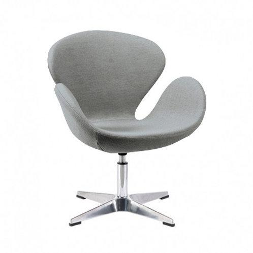 Krzesło szare obrotowe Tulip 23