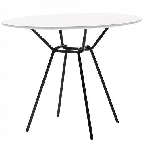 Stół okrągły biały Bristol
